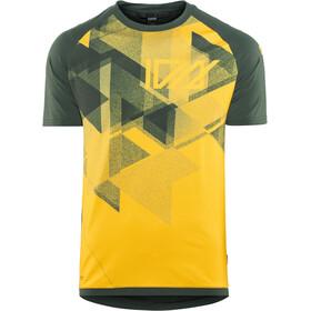 ION Traze AMP T-Shirt Heren, geel/groen
